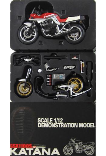 【中古】ミニカー 1/12 スズキGSX1100SE 刀 1984年式(レッド) 「ダイキャストネイキッドバイクシリーズ」