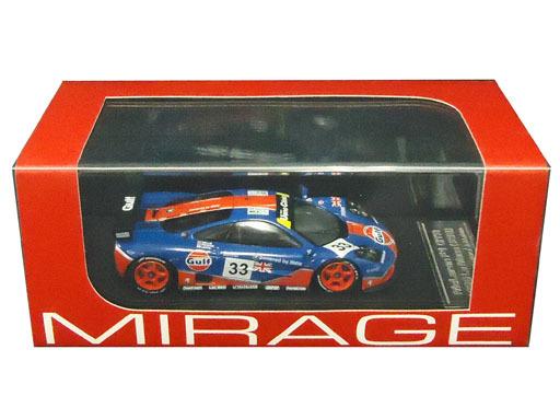 【中古】ミニカー 1/43 McLaren F1 GTR#33 1996 Le Mans ダイキャストモデル [8266]