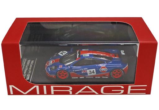 【中古】ミニカー 1/43 McLaren F1 GTR#34 1996 Le Mans ダイキャストモデル [8263]