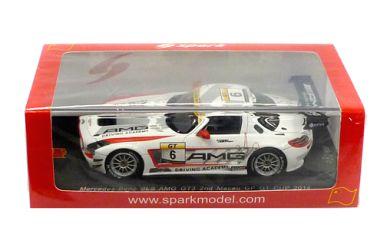 Mercedes-Benz SLS AMG GT3 van der Zande Macau GP GT Cup 2014-1:43 Spark SA069
