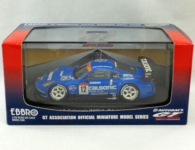 【中古】ミニカー 1/43 12 Calsonic IMPUL Z Late model BRIDGESTONE #12(ブルー) 「オートバックス GT 2004シリーズ」 [43635]