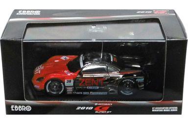 【中古】ミニカー 1/43 ZENT CERUMO SC430 SUPER GT500 2010 GIRO #38(シルバー×レッド) 「オートバックス SUPER GT 2010シリーズ」 [44332]