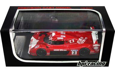 【中古】ミニカー 1/43 Toyota GT-One 1999 Le Mans ESSO #3(レッド×ホワイト) [8149]