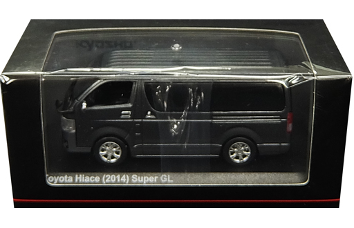 【中古】ミニカー 1/43 トヨタ ハイエース スーパーGL 2014(グレーメタリック) [KS03861GR]