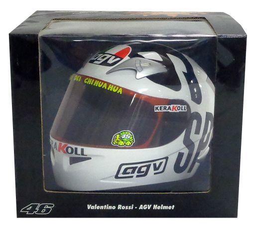 【中古】ミニカー 1/2 AGV ヘルメット V.ロッシ モトGP フィリップアイランド 2004 [327040096]