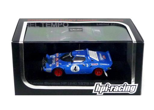 【中古】ミニカー 1/43 Lancia Stratos HF 1979 Monte Carlo MICHELIN #4(ブルー) [8024]