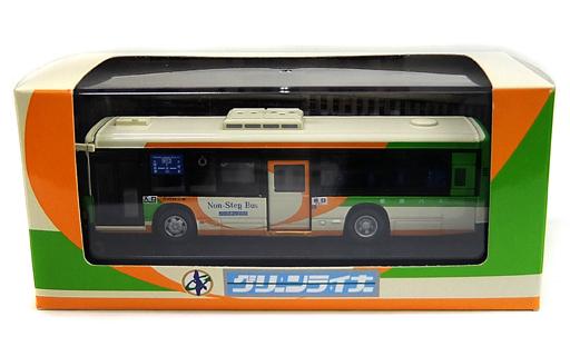 【中古】ミニカー 1/80 いすゞ エルガ 都営バス グリーンライナー G-H126 大塚(アイボリー×オレンジ×グリーン) 大塚支所閉鎖記念