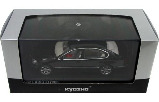 【中古】ミニカー 1/43 トヨタ アリスト V300 1998 (ブラックオニキス) [KS03792BK]