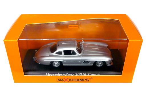 W198 I MERCEDES BENZ 300 SL SILVER  1//43 Minichamps 940039000 - 1955