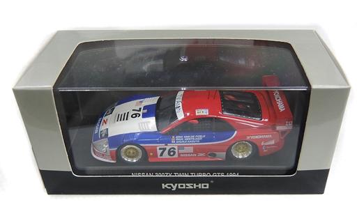 【中古】ミニカー 1/43 NISSAN 300ZX TWIN TURBO GTS 1994 LM YOKOHAMA #76(レッド×ブルー) [03217B]