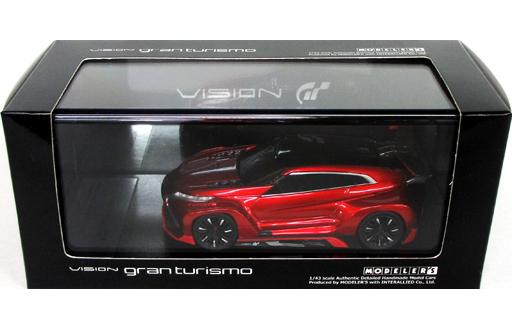【中古】ミニカー 1/43 Mitsubishi Concept XR-PHEV EVOLUTION Vision Gran Turismo(レッド) [MD43008RE]