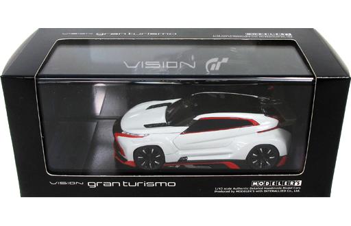 【中古】ミニカー 1/43 Mitsubishi Concept XR-PHEV EVOLUTION Vision Gran Turismo(ホワイト) [MD43008WH]