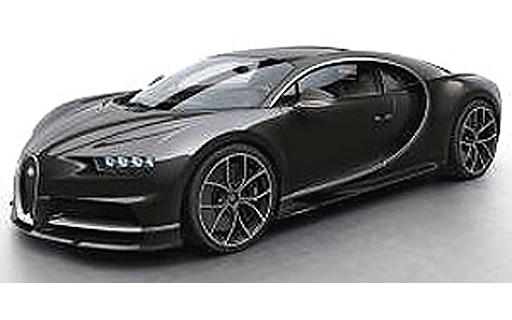 【予約】ミニカー 1/43 Bugatti Chiron(カーボンブラウン) [LS459I]