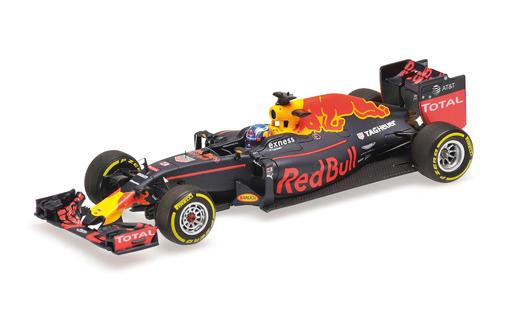【中古】ミニカー 1/43 レッド ブル レーシング タグホイヤー RB12 ダニエル・リカルド 2016 [417160003]