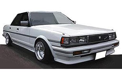 【中古】ミニカー 1/43 Toyota Cresta Super Lucent GX71 SS-Wheel(ホワイト) [IG0680]
