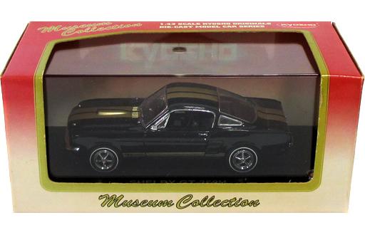 【中古】ミニカー 1/43 SHELBY GT-350H (ブラック×ゴールド) [03122H]