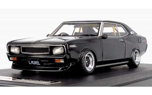【中古】ミニカー 1/43 Nissan Laurel 2000SGX C130(ブラック) [IG1020]