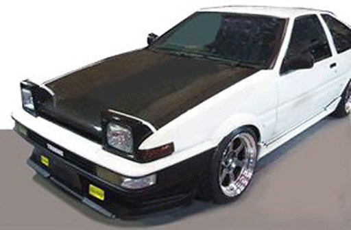 【中古】ミニカー 1/43 Toyota Sprinter Trueno AE86 2Dr GTV(ホワイト) [IG0481]