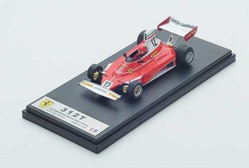 【中古】ミニカー 1/43 フェラーリ312T ニキ・ラウダ 1975 モナコGP 優勝車 [LSHE001]