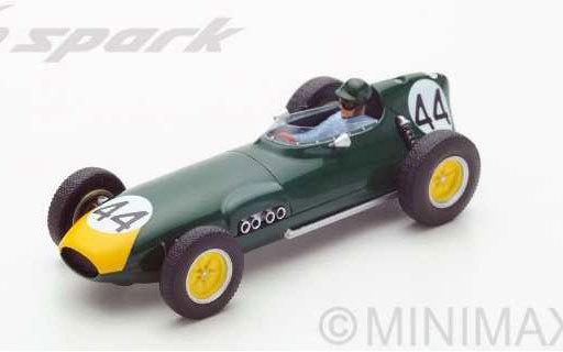 【新品】ミニカー 1/43 Lotus 16 Monaco GP 1959 Bruce Halford #44 [S5341]