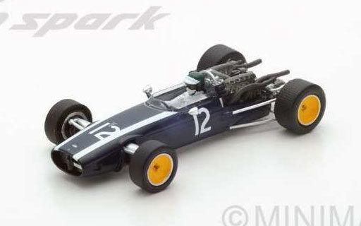 【新品】ミニカー 1/43 Cooper T81B Dutch GP 1967 Jochen Rindt #12 [S4806]