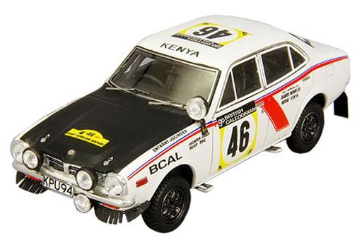 【中古】ミニカー 1/43 三菱 ランサー 1600 GSR サファリラリー ウィナー 1974年 J.シン/D.ドグ #46 [C43069]