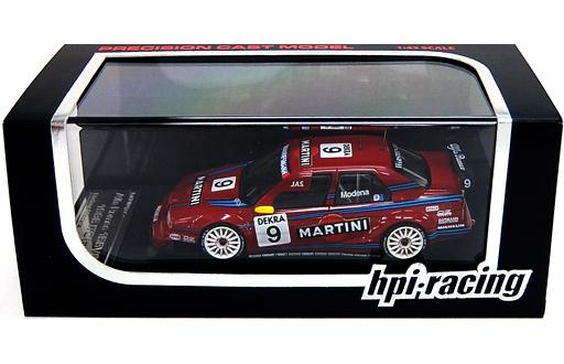 【中古】ミニカー 1/43 Alfa Romeo 155V6 TI 1996 ITC MARTINI #9(レッド) [8096]