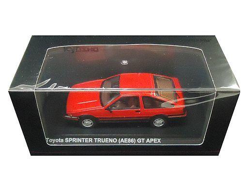 【新品】ミニカー 1/43 トヨタ スプリンター トレノ AE86(レッド) [KS03891R]