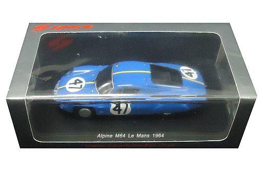 【新品】ミニカー 1/43 Alpine M64 Le Mans 1964.Vinatier M.Bianchi #47 [S5681]
