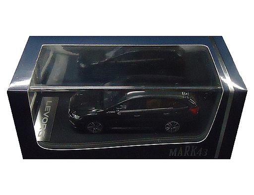 【新品】ミニカー 1/43 スバル レヴォーグ 2.0GT-S アイサイト(ダークグレーメタリック) [PM4371GM]