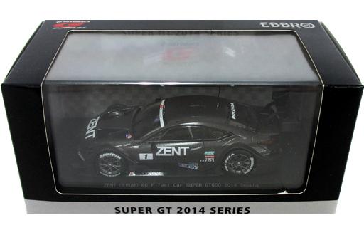 【中古】ミニカー 1/43 ZENT CERUMO RC F Test Car EXEDY #1(ガングレー) 「オートバックス SUPER GT 500 2014シリーズ」 [45092]