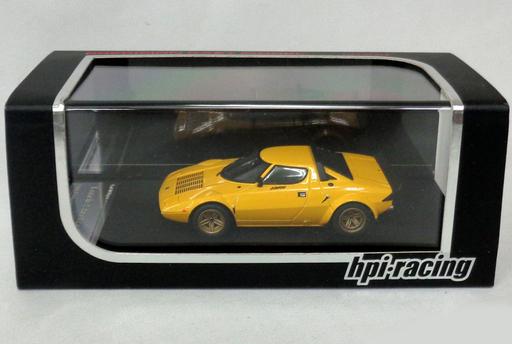 【中古】ミニカー 1/43 Lancia Stratos HF(イエロー) [8144]