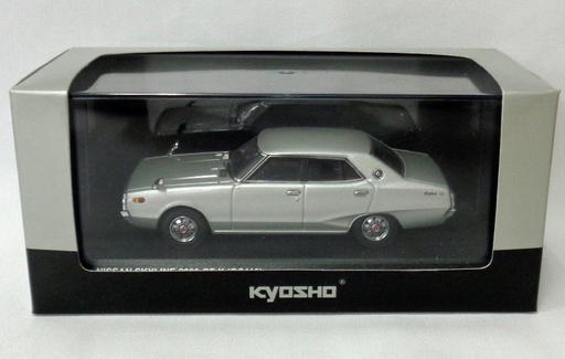 【中古】ミニカー 1/43 NISSAN SKYLINE 2000 GT-X GC110(シルバーメタリック) [03271S]