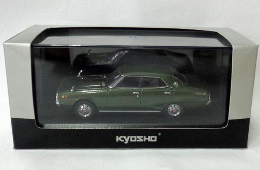 【中古】ミニカー 1/43 NISSAN SKYLINE 2000 GT-X GC110(グリーンメタリック) [03271GR]