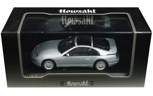 【中古】ミニカー 1/43 NISSAN FAIRLADY Z 300ZX Twin Turbo CZ32(シルバー) 「Howsakt」 [K03705SW]