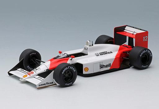 【新品】ミニカー 1/43 McLaren Honda MP4/4 日本GP ウィナー アイルトン・セナ -ワールドチャンピオン- #12 [FE013A]