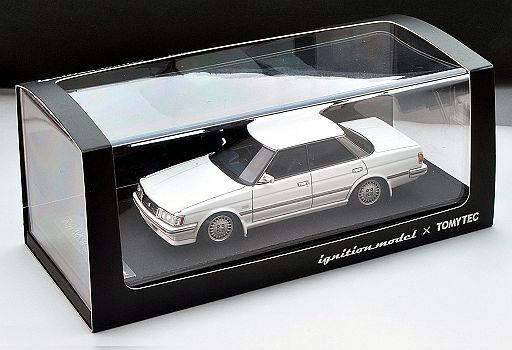 【予約】ミニカー 1/43 T-IG4312 トヨタ マークII グランデ リミテッド 87年式(ホワイト) [288749]