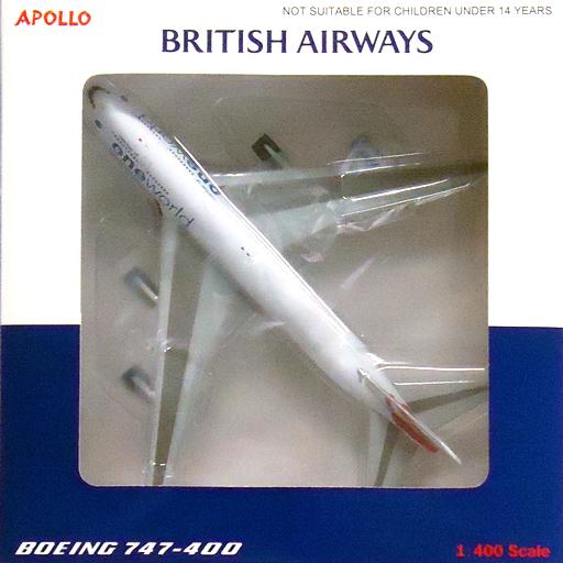 【中古】ミニカー 1/400 BRITISH AIRWAYS BOEING 747-400 member of oneworld #G-CIVC [A13024]