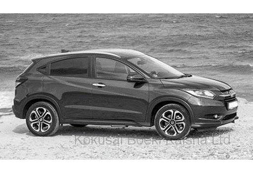【予約】ミニカー 1/43 ホンダ HR-V ヴェゼル ハイブリッド 2014(モルフォブルーパール) [MOC204]
