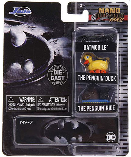JADA TOYs 新品 ミニカー 1.65Inch / Nano バットマン 3台パック 「Hollywoodrides」 [JAM31616]