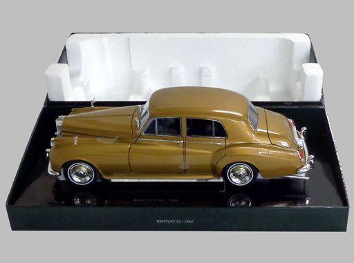 【中古】ミニカー 1/18 ベントレー S2 1954 (ゴールド) [100139952]