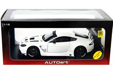 【中古】ミニカー 1/18 アストンマーチン V12 ヴァンテージ GT3 2013 (ホワイト) [81307]