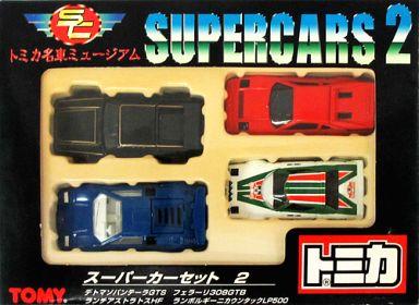 【中古】ミニカー スーパーカーセット2(4台セット) 「トミカ 名車ミュージアム」