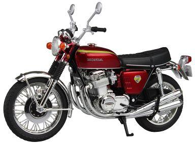 【中古】ミニカー 1/12 Honda CB750FOUR K0(キャンディレッド)