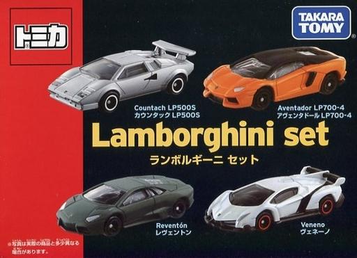 【中古】ミニカー ランボルギーニセット 「トミカギフト」