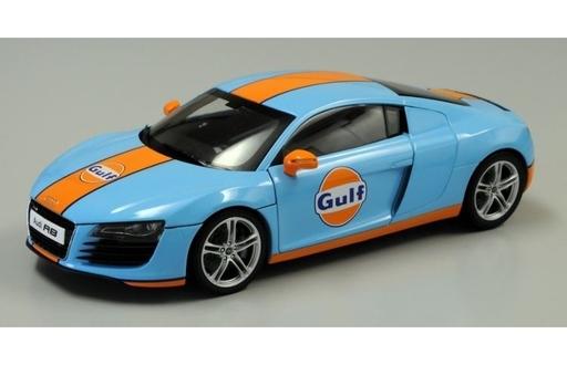 【新品】ミニカー 1/18 Audi R8 ガルフ [KS09213GF]