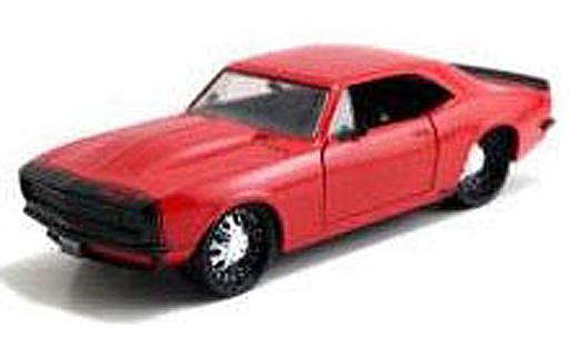 【予約】ミニカー 1/24 1967 Chevy Camaro(レッド) 「BIGTIME MUSCLE」 [JAD97170RD]