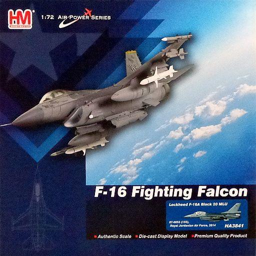 【新品】ミニカー 1/72 F-16C ブロック20 `ヨルダン空軍` [HA3841]