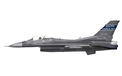 """【新品】ミニカー 1/72 F-16C ブロック52 """"サウスカロライナANG"""" [HA3843]"""