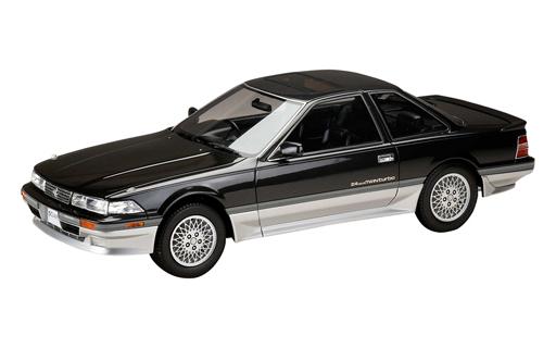 【中古】ミニカー 1/18 トヨタ ソアラ 2.0GT Twin Turbo L (GZ20) 1988(ダンディブラックトーニング) [HJ1801CBS]